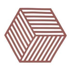 Zone Denmark Hexagon Pannunalunen Siennanpunainen