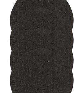 Zone Denmark Lasinalunen Huopa Musta 10 cm 4-pack