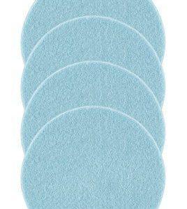 Zone Denmark Lasinalunen Huopa sininen 10 cm 4-pack