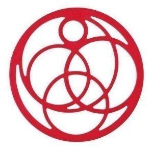Zone Denmark Pannunalunen Silikoni Punainen 16 cm
