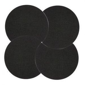 Zone Denmark Pannunalunen pyöreä Musta 18 cm