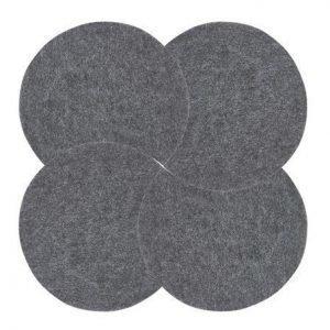 Zone Denmark Pannunalunen pyöreä Tummanharmaa 18 cm