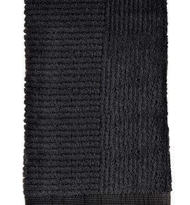 Zone Denmark Pyyhe 100% Puuvilla Musta 100x50 cm
