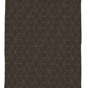 Zone Denmark Pyyhe 100% Puuvilla Musta 70x50 cm