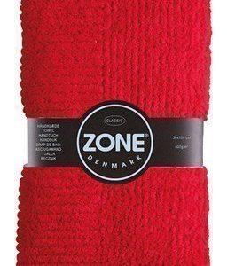 Zone Denmark Pyyhe 100% Puuvilla Punainen 100x50 cm