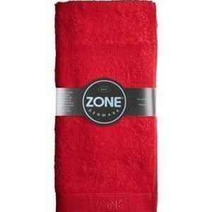 Zone Denmark Pyyhe Basic Punainen 100x50 cm