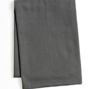 Zone Denmark Pyyhe kahvalla 100% Puuvilla Harmaa 70x50 cm