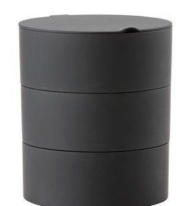 Zone Denmark Säilytyslaatikko Musta 16x18 cm