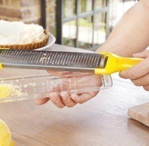 Zyliss Raastinrauta + keruuastia keltainen