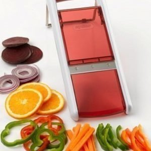 Zyliss Safety Slicer Valkoinen/Punainen